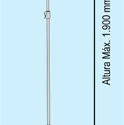 Soporte telescópico para marcos