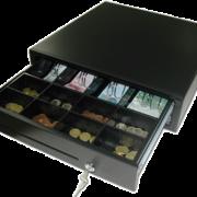 Cajón portamonedas-billetes para mostrador